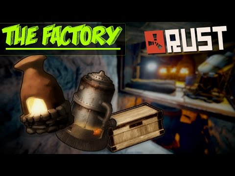 THE FACTORY! - Super Cheap Solo Base | Rust Base Building