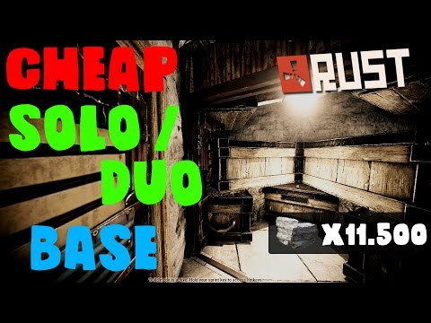 CHEAP SOLO / DUO BASE | Rust Base Design