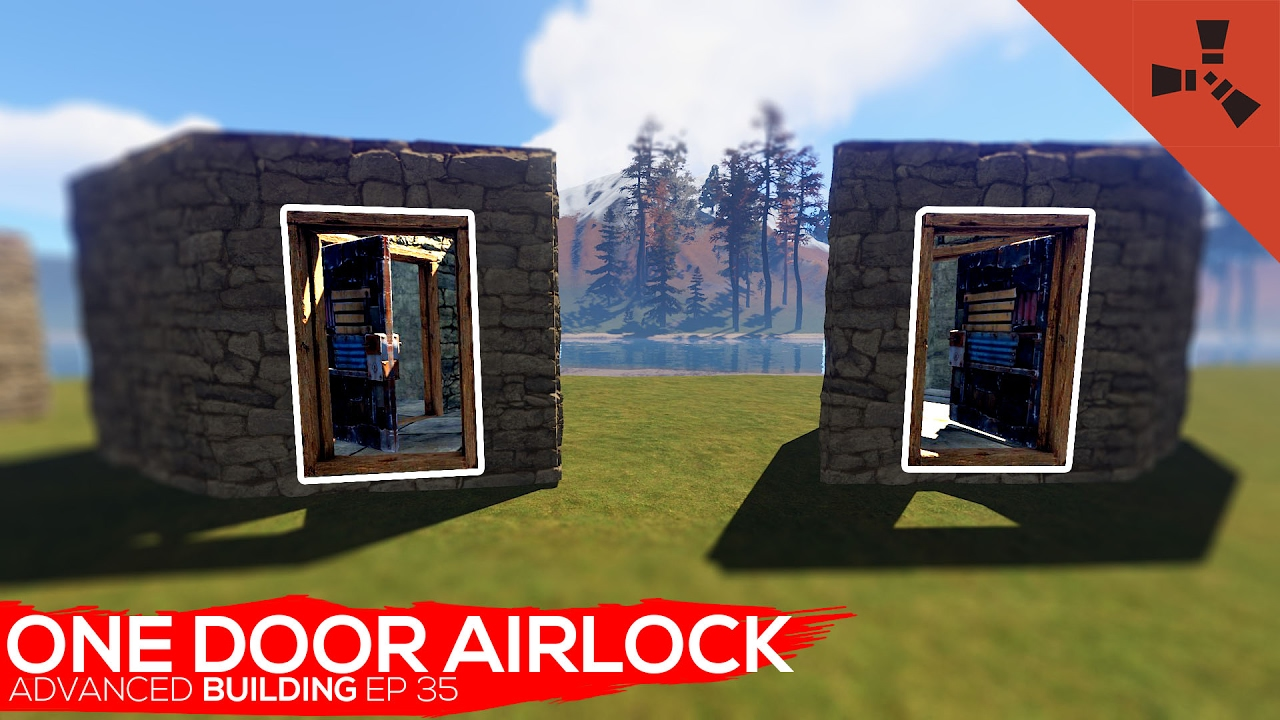 Advanced building Ep 35 One Door Airlock | Rust
