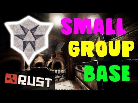 SMALL GROUP BASE - Two Cupboards | Rust Base Building
