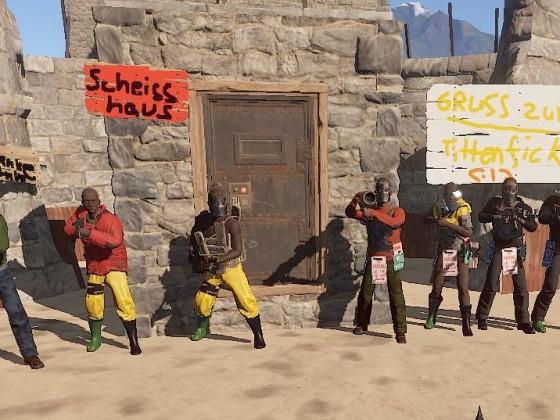 Die grüne Gummistiefeltruppe