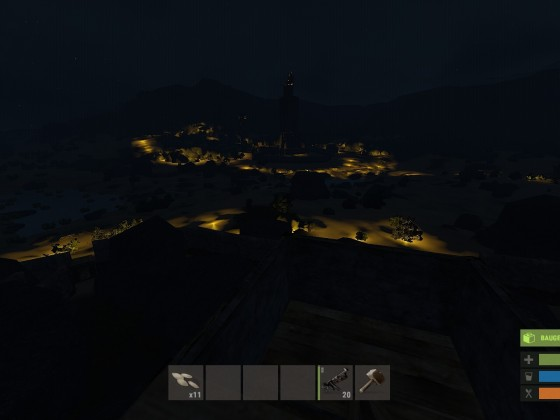 [VAULT01] Tower bei Nacht.