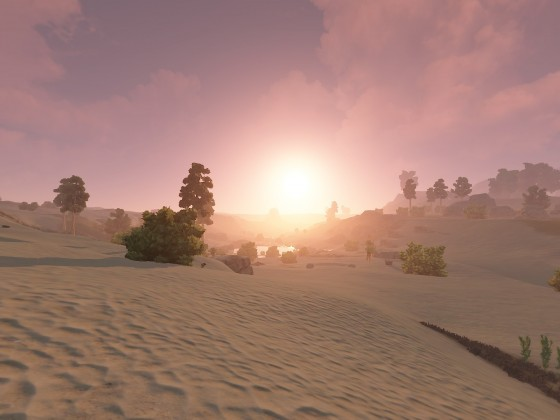 Rust Wüste