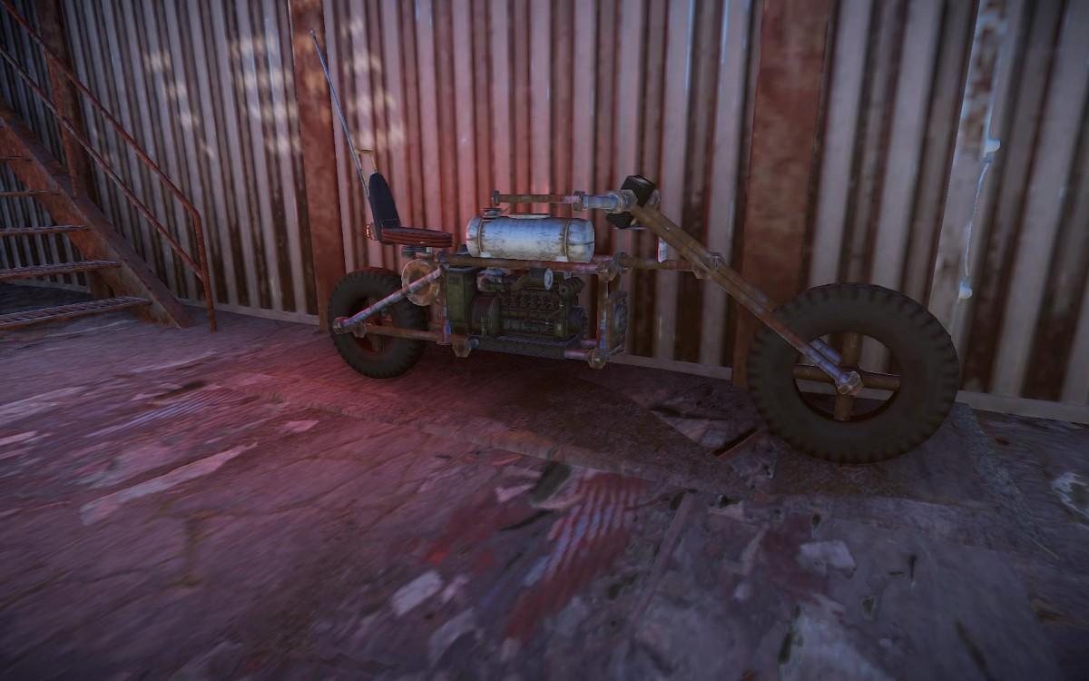 MyRust Motorrad :D