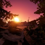"""Sonnenuntergang auf der eigenen Map """"Verlassenes Industriegelände"""""""